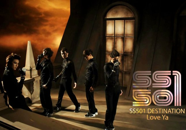 ss501 DESTINATION mini-album - Love Ya